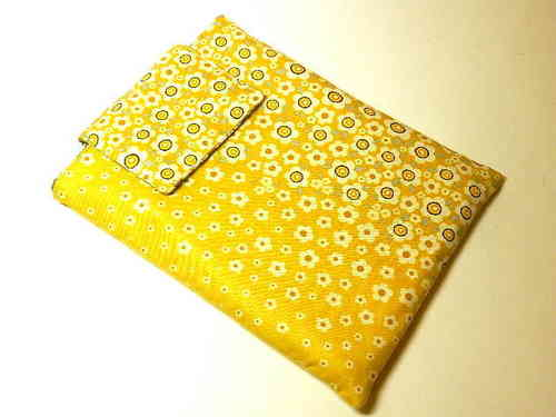 "tablet PC cover cotton ""FLOWERS OMBRE"" bag"