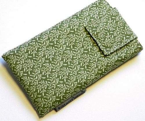smartphone cover - BRANCHES ON OLIVE - strap